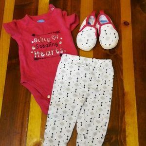 Bon Bebe Baby Girl Outfit